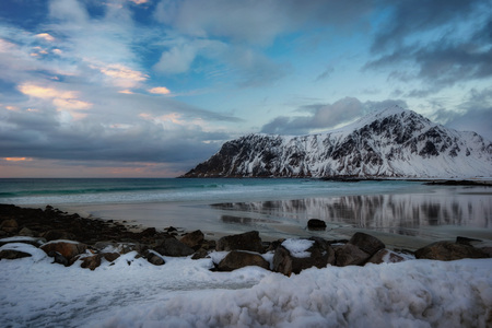 The Lofoten Islands Norway taken in 2016 Stock Photo