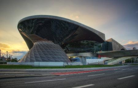 Olympia Stadium Munich taken in 2015 Editorial