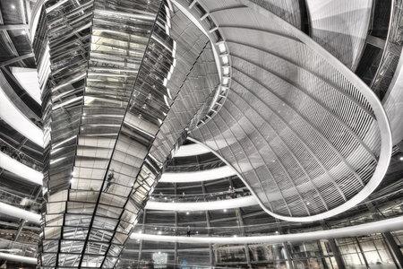 Berlin Reichstag Done taken in 2015 Éditoriale