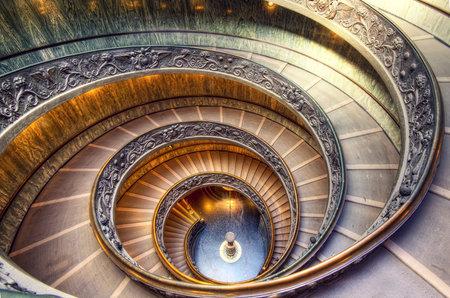 Vatican Staircase taken in 2011