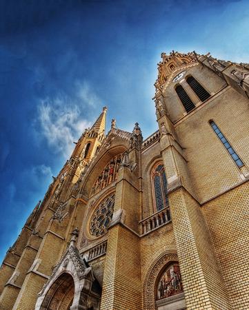 Saint Elizabeth Church Budapest Stock Photo