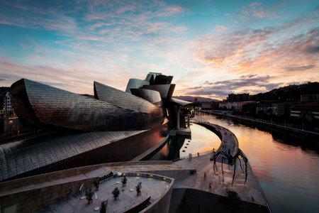 Guggenheim Bilbao Spain taken in 2015