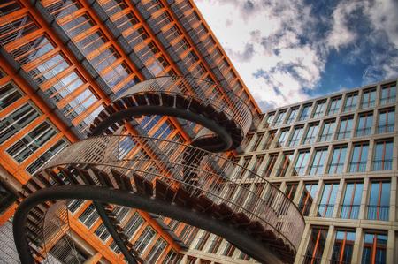 Endless Staircase Munich taken in 2015 Stock Photo