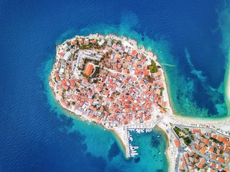 Primosten Croatian Coast .