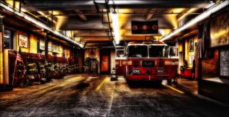 New York Fire Department taken in 2015 Stock Photo