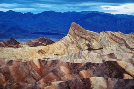Death Valley Zabriski Point taken in 2015 Stock Photo