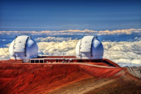 Observatoires Mauna Kea à Hawaii prises en 2015