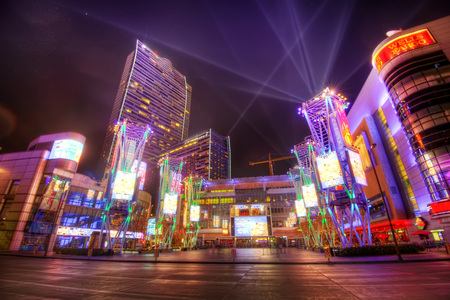 Los Angeles, USA - 20 janvier 2013: Microsoft Square prise en 2015