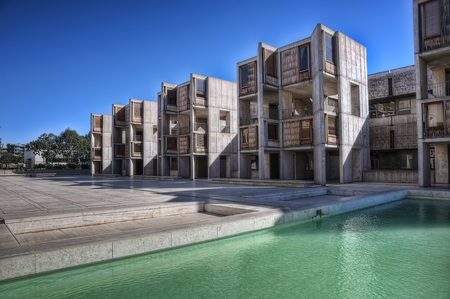 Salk Institute San Diego taken in 2015 Stock Photo