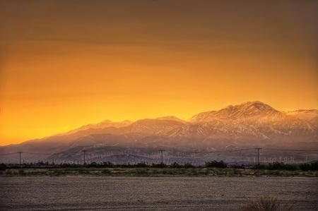 Palms Springs Sunset taken in 2015