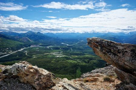 Alaska Denali National Park taken in 2015 Stock Photo