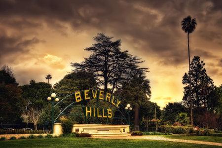 Beverly Hills USA taken in 2015 Redakční