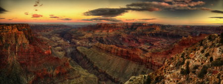 Grand Canyon Sunset taken in 2015