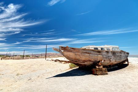 Salton Sea California taken in 2015 Stock Photo