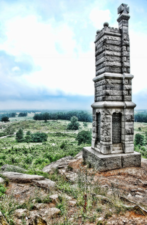 Battle of Gettysburg Memorial taken in 2015 Editorial