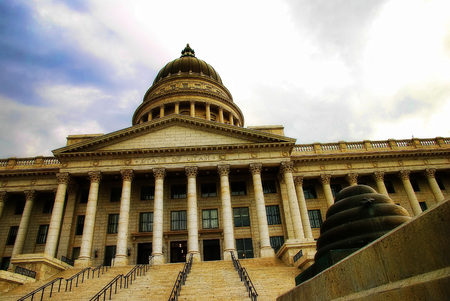 Utah State Capitol Salt Lake City taken in 2015