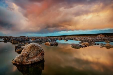 Mono Lake Sunset taken in 2015