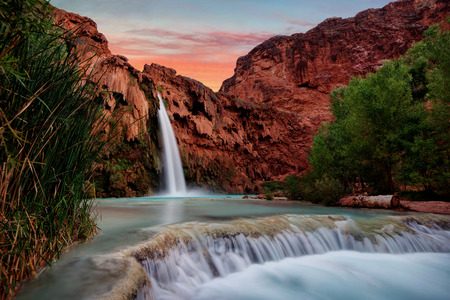 Havasu Falls Sunset taken in 2015