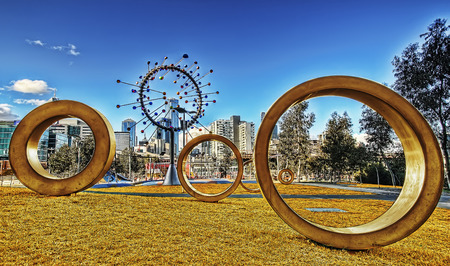 Melbourne Art Australia taken in 2015 版權商用圖片