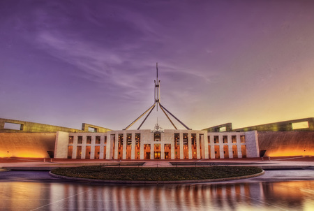 Canberra taken in 2015 Фото со стока - 94916001