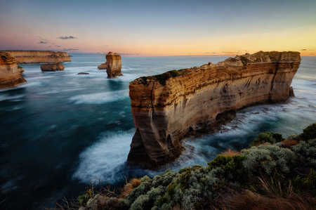 Great Ocean Road Victoria Australia Razorback taken in 2015 Stock Photo
