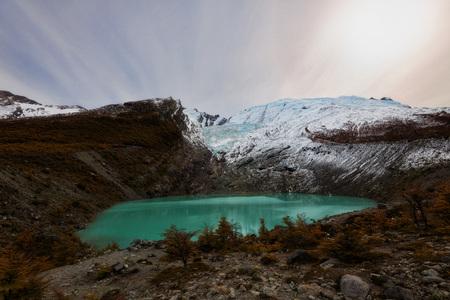 Argentina Glaciar Huemul taken in 2015