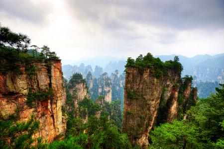 Zhangjiajie National Forest Park China taken in 2015
