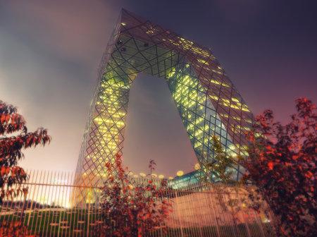 Beijing CCTV Building taken in 2014 Editorial
