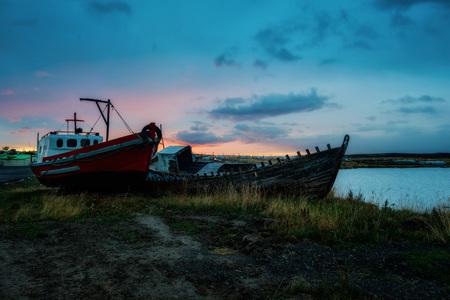Puerto Natales Ship Graveyard