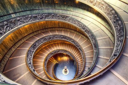 Vatikanische Treppe im 2015 genommen