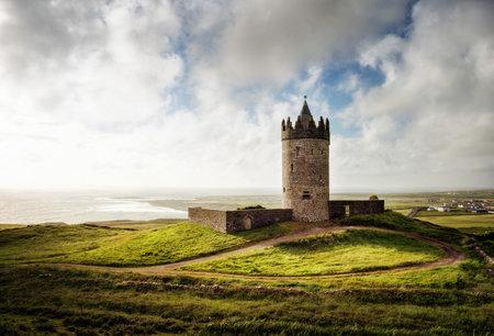 Doonagore Castle Irland taken in 2015 Editorial
