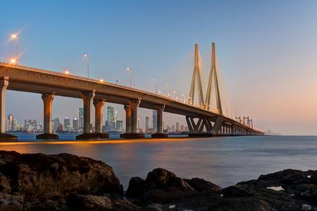 Bandra Worli Sea Link Mumbai taken in 2015