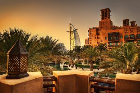 Dubai jumeirah  UAE Stock Photo