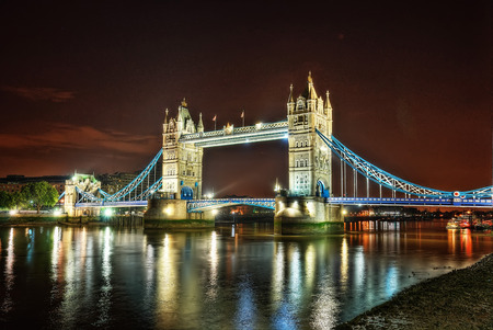Tower Bridge London United Kingdom taken in 2015 Banque d'images