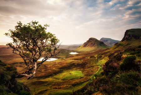 Quiraing Isle of Skye United Kingdom taken in 2015