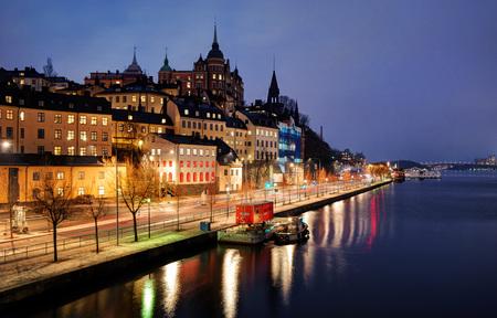 Stockholm at Night taken in 2015