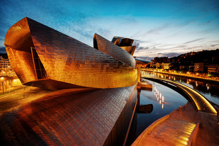 Guggenheim Bilbao Spain taken in 2015