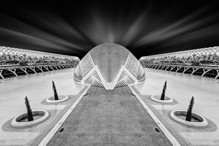 Modern Architecture Fine Art taken in 2015 Stock Photo