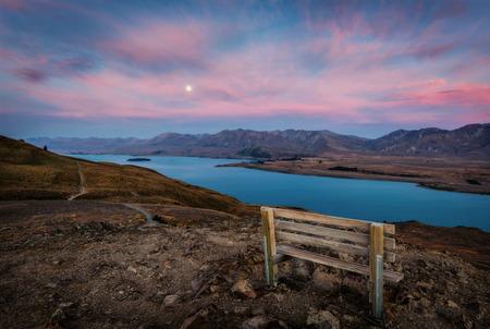 Mt John Observatory Lake Tekapo New Zealand Stock Photo