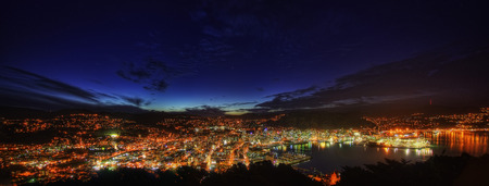 Mount Victoria Lookout Wellington New Zealand taken in 2015