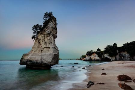 Cathedral Cove Coromandel Peninsula New Zealand taken in 2015