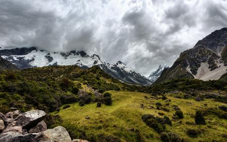 Hooker Valley Hike New Zealand taken in 2015