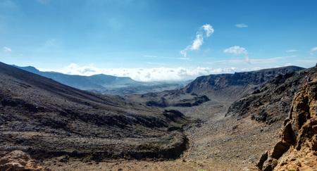 Tongariro Alpine Crossing New Zealand taken in 2015