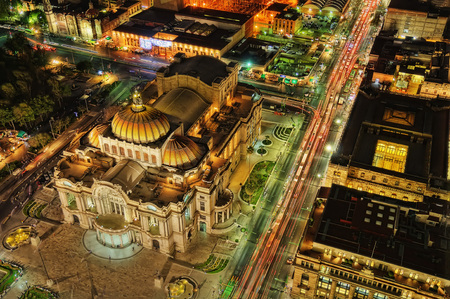 Palacio de Bellas Artes Mexico City taken in 2015