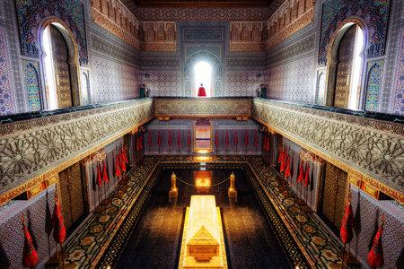 Mausoleum of Mohammed V Morocco 免版税图像 - 95099593