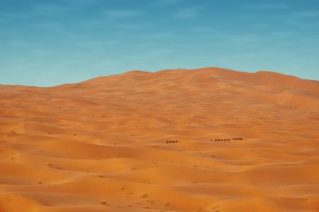 Sahara Desert Morocco taken in 2015 Stock Photo