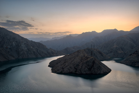 Lower Naryn River Canyon in Kyrgyzstan