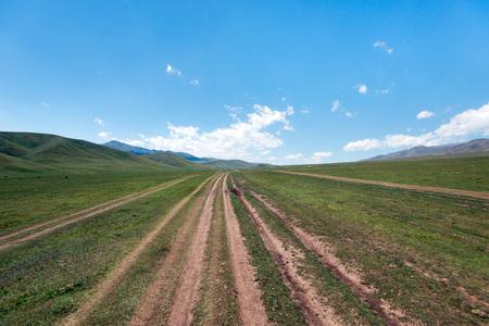 Assy Plateau East of Almaty Kazakhstan 写真素材