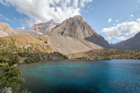Alaudin Lake in the Fann Mountains, taken in Tajikistan