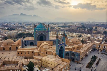 Naqsh-e Jahan-plein in Isfahan, Iran